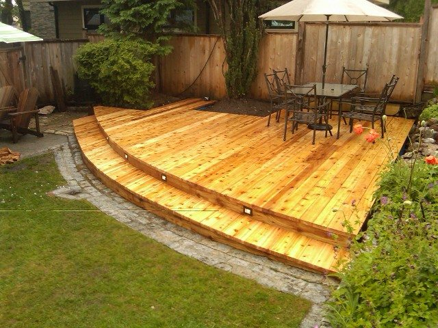 Harrison Vancouver deck after