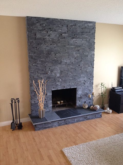Poco Fireplace after