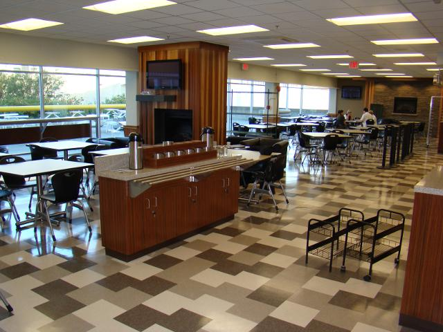 BCIT Campus Cafeteria after